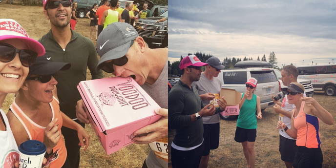 Hood to Coast 2015, Team Awesome Sauce. Photo by Tiffany Brown Anderson